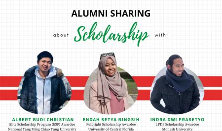 Alumni Sharing Scholarship Opportunities